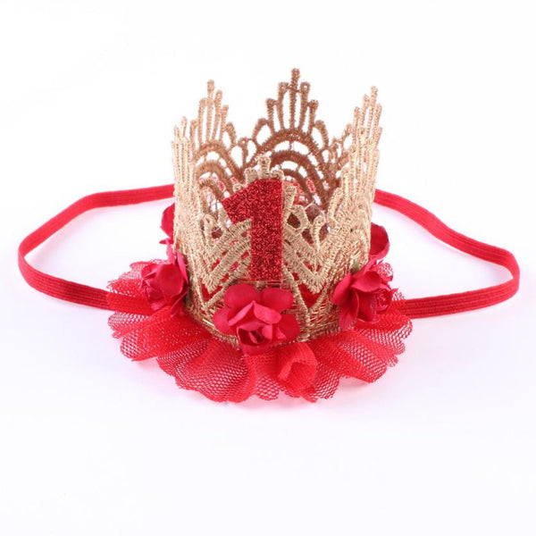 Girl Head Accessories Baby Hair Band Elastic Flower Crown