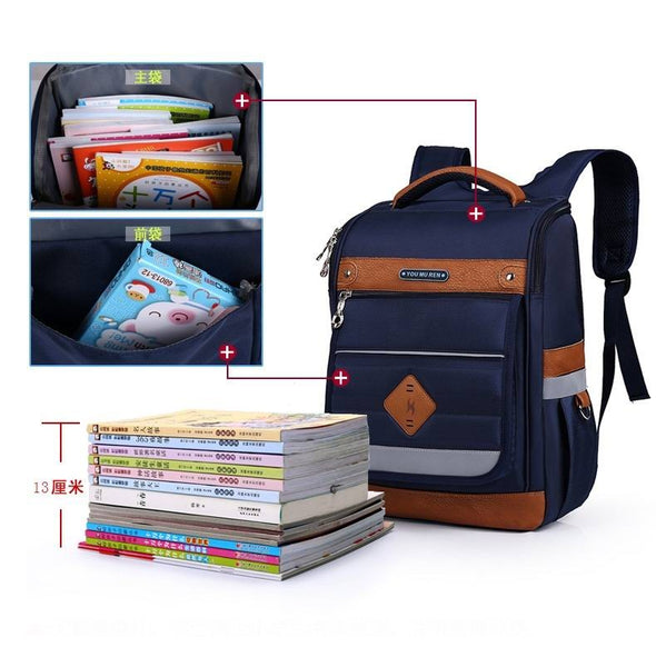 Boys and girls school bags children's orthopedic backpack high quality