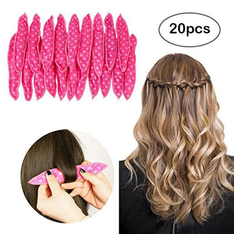 20pcs/lot Magic Sponge Pillow Soft Hair Roller Best Flexible Foam and Sponge Hair Rollers Curl Tools