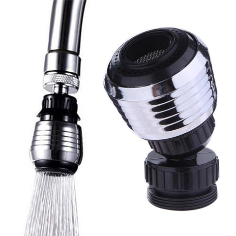 Plastic Faucet Nozzle 360 Rotary Kitchen Faucet Shower Head Economizer Filter