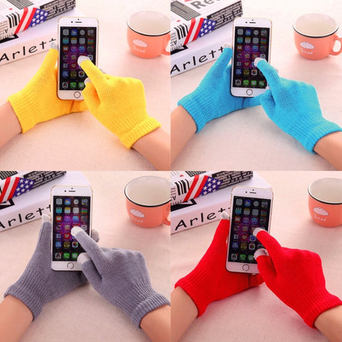 Magic Touch Screen Gloves Smartphone Texting Stretch Winter Warmer