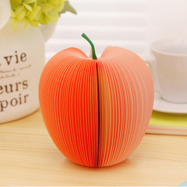 Fresh Fruit Note Series, Easy to Carry, Write and Remember, 4pcs