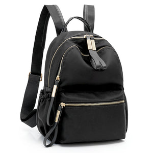 Nylon Backpacks for Girls Teenagers Back Pack Women
