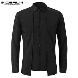 Long Sleeve Cotton Casual Shirts Formal Man Fashion Slim Fit Shirt