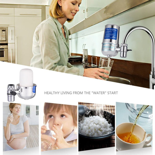 Water Filter Purifiers for Household Kitchen Health Tap Hi-Tech Nano Ceramic Filter