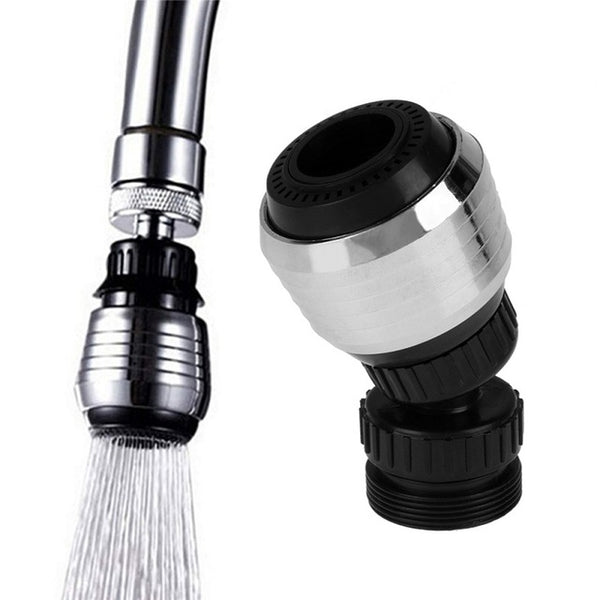 360 Degree Kitchen Water Faucet Saving Tap Bathroom Shower Head Filter Nozzle