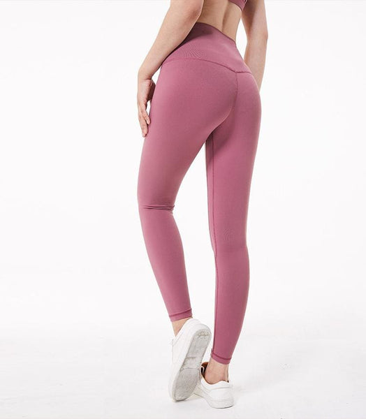 Full Length Yoga Leggings - Rose&Red