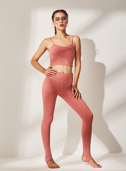 Sports Bra and Workout Leggings Set- 5 Colors Available