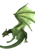 Load image into Gallery viewer, Dragon green