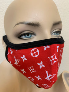 Red LV mask