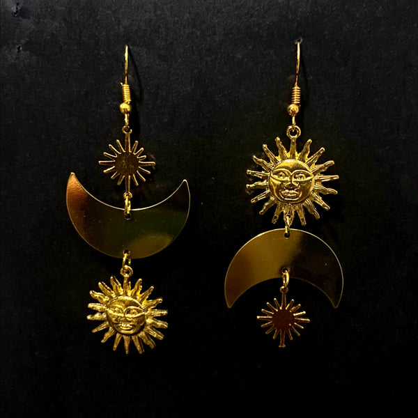 Mae - Gold Sun and Moon - Moon Metals Collection