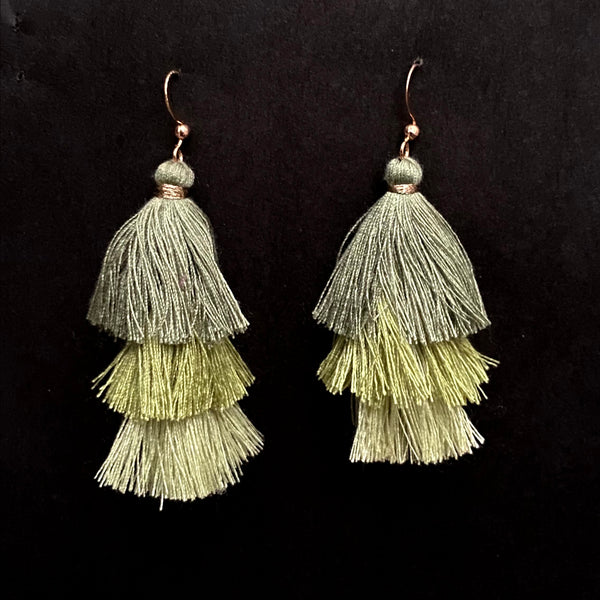 Dolly Boho Triple Tassels