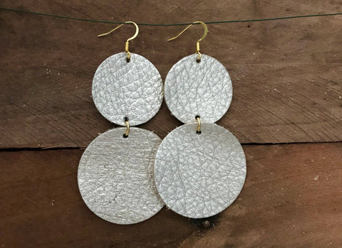 coco-champagne-circle-leather-earrings