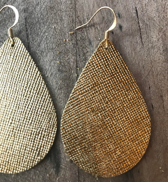 gold-saffiano-teardrop-leather-earrings