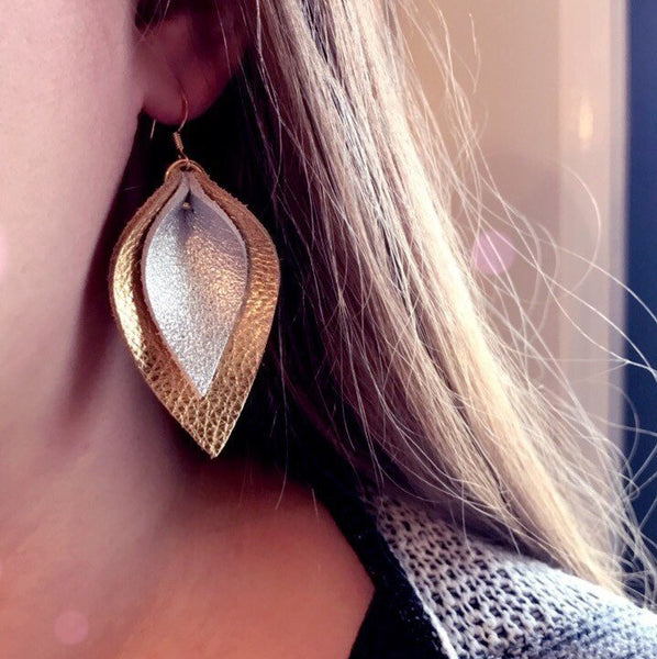 katie-double-layered-leather-leaf-shaped-earrings-in-rose-gold-and-champagne