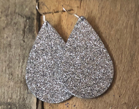 gunmetal-grey-glitter-leather-earrings