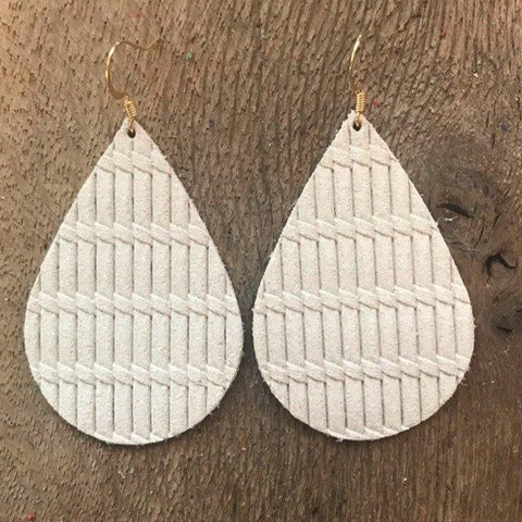 knit-cream-leather-earrings