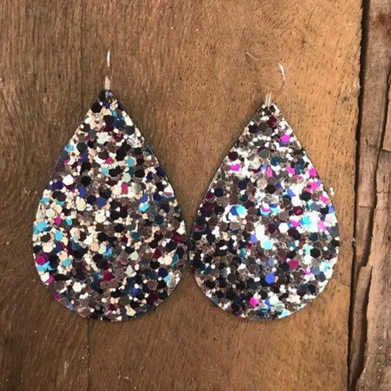 snow-queen-multi-colored-chunky-glitter-vegan-leather-earrings