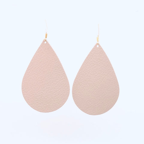 blush-pink-teardrop-leather-earrings