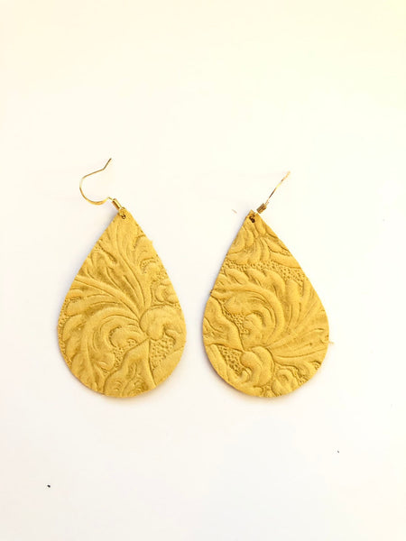 south-western-tooled-leather-earrings