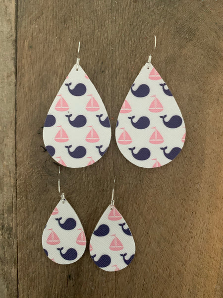Summer Fun - whimsical patterned vegan earring collection