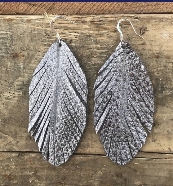 abby-rose-gold-leather-feather-earrings