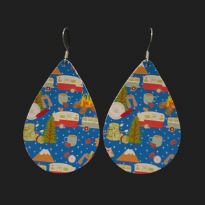 Camper Sweet Camper Teardrop Earrings
