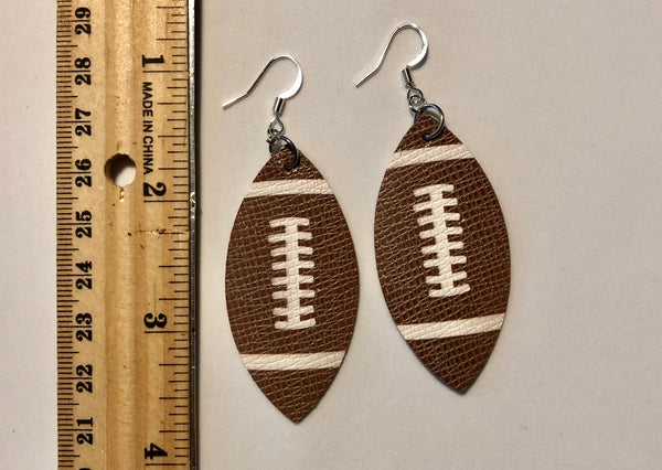 football-earrings