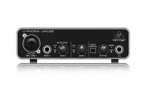 BEHRINGER audio interface UMC22 - Review