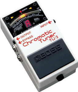 Boss TU3 Chromatic Tuner Pedal Review