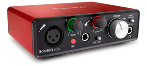 Focusrite Scarlett Solo (2nd Gen) - Review