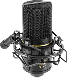 MXL 770 Cardioid Condenser Microphone Review