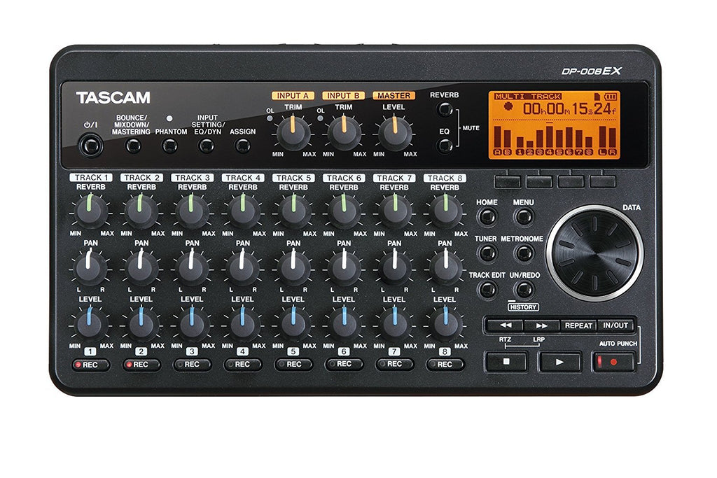 Tascam DP-008EX Digital Portastudio Multitrack Recorder Review