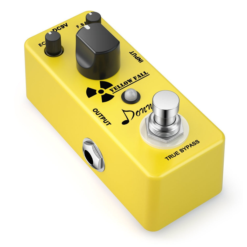Donner Yellow Fall Analog Delay Pedal Review
