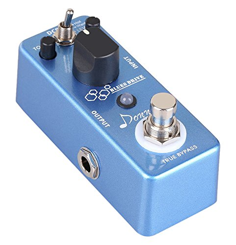 Donner Blues Drive Classical Electronic Vintage Overdrive Guitar Effect Pedal