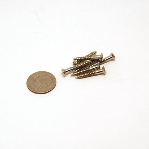 3.5X25mm Bridge & Strap Button screws - 10pk