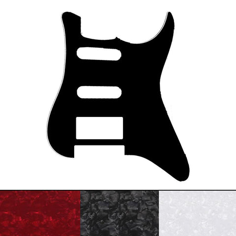 Strat Style Pickguard - H/S/S