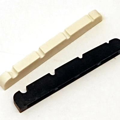 4 String Bass Nut - Pre-Slotted | White