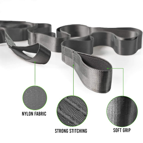 yoga strap for streching
