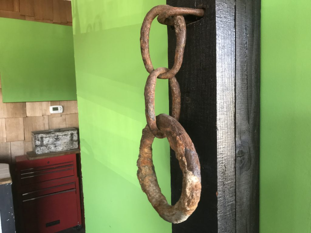 The Captain's coat hook