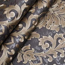 Luxury Modern Metallic Damask Vinyl Wallpaper - Paruse