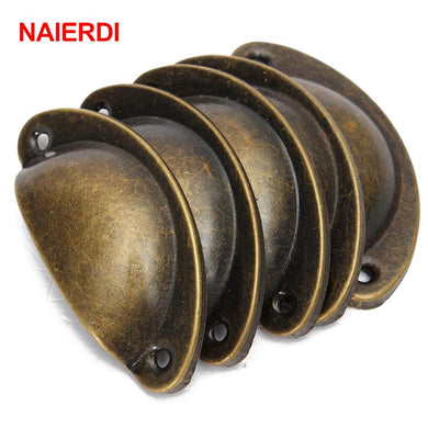 NAIERDI 20PCS Retro Metal Kitchen Drawer Handle - Paruse