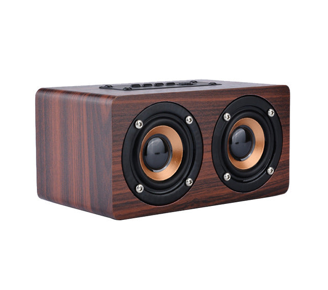TOPROAD Wooden Wireless Bluetooth Speaker - Paruse