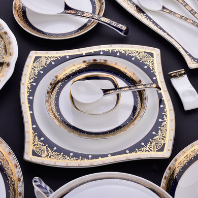 58pc Fine Bone China Tableware