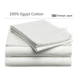 100% Egyptian cotton 1800 TC bedding set - Paruse
