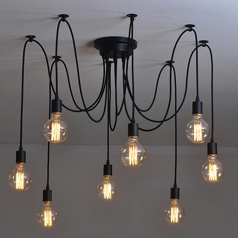 Retro Edison Bulb Light Chandelier - Paruse