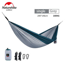NatureHike Ultralight Hammock Outdoor Camping Hunting Hammock Portable Double person HAMMOCK  NH17D012 - Paruse