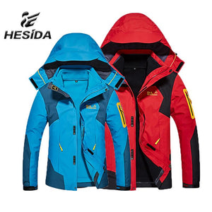 Hesida Men's Hiking Jacket - Paruse