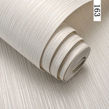 Fashion Simple Solid Color Striped Wallpaper - Paruse