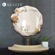 Decorative Round Wall Mirror. - Paruse